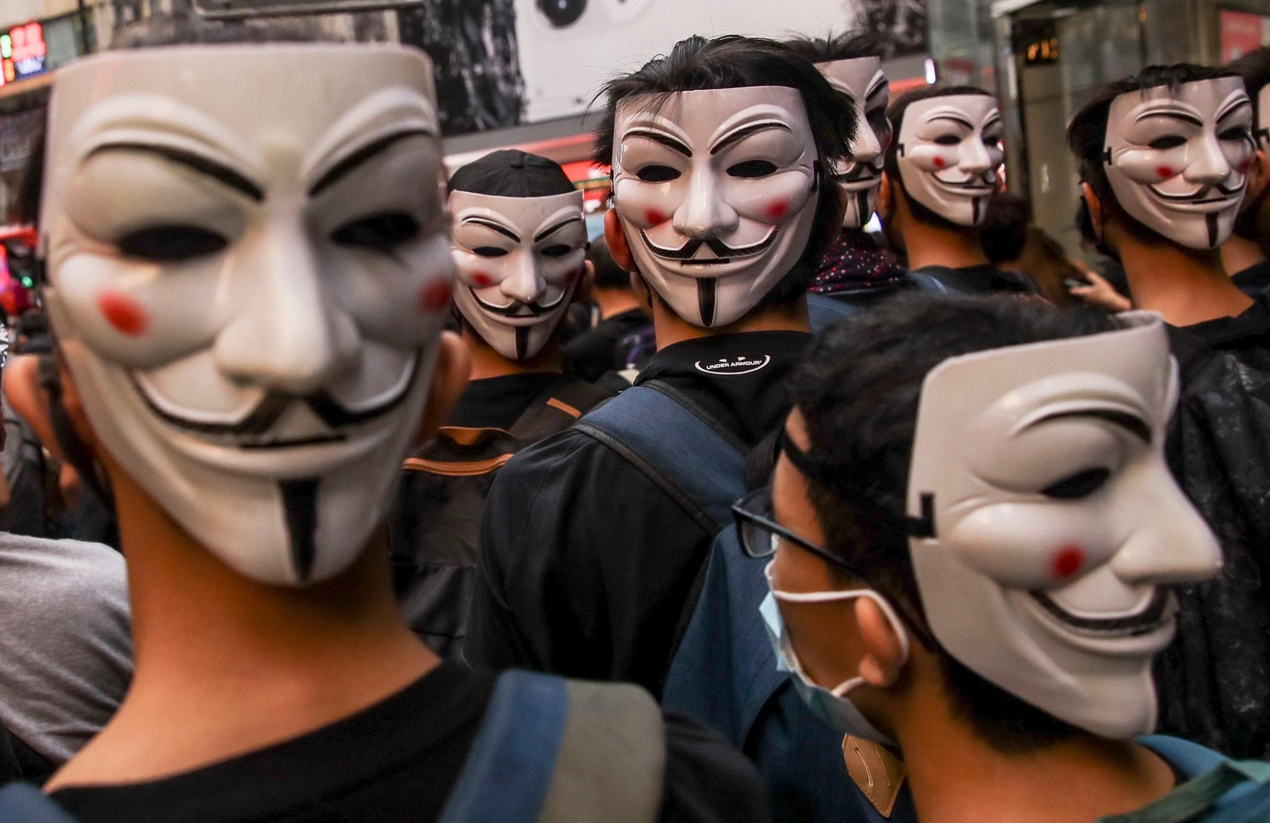 """Hong Kong: Corte de Apelaciones declara prohibición de uso de máscaras en manifestaciones """"inconstitucional"""""""