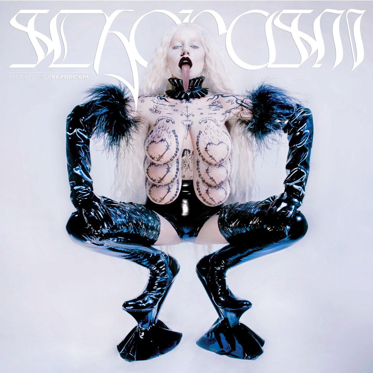 """Portada del disco de Brooke Candy, """"Sexorcism"""". Foto: Bandcamp"""