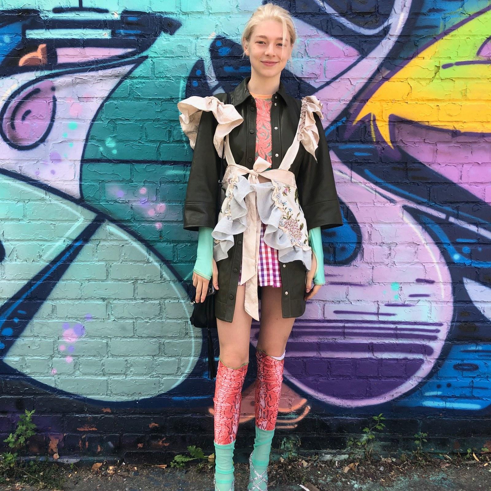 10 looks de Hunter Schafer que la convierten en una embajadora de la moda y el arte