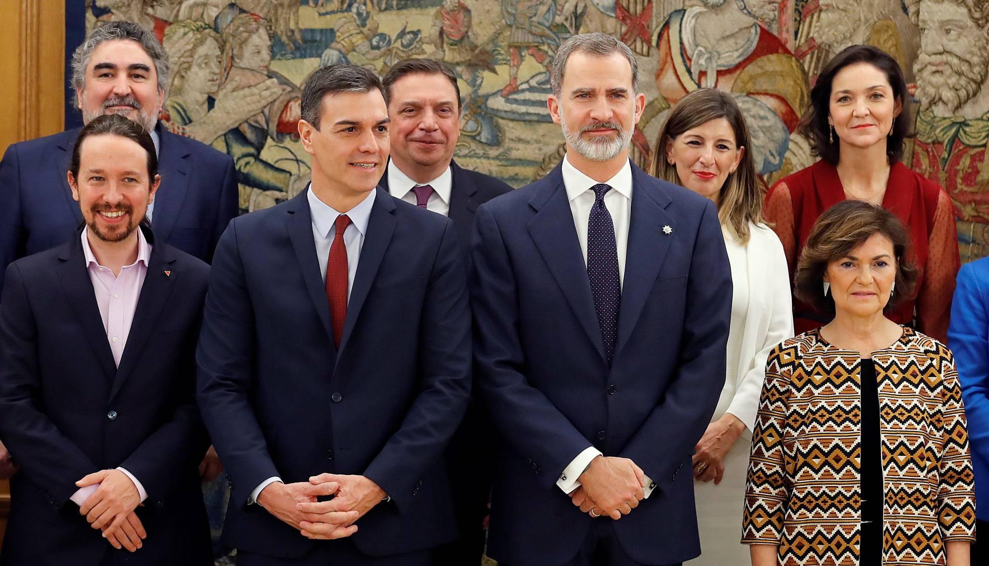 España: Pedro Sánchez llama a la unidad pese a las diferencias en su gobierno de coalición