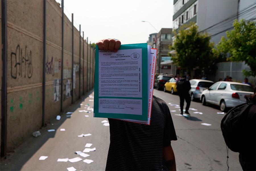Chile: Vicepresidente del Cruch, Aldo Valle, asegura que este podría ser el último año de la PSU