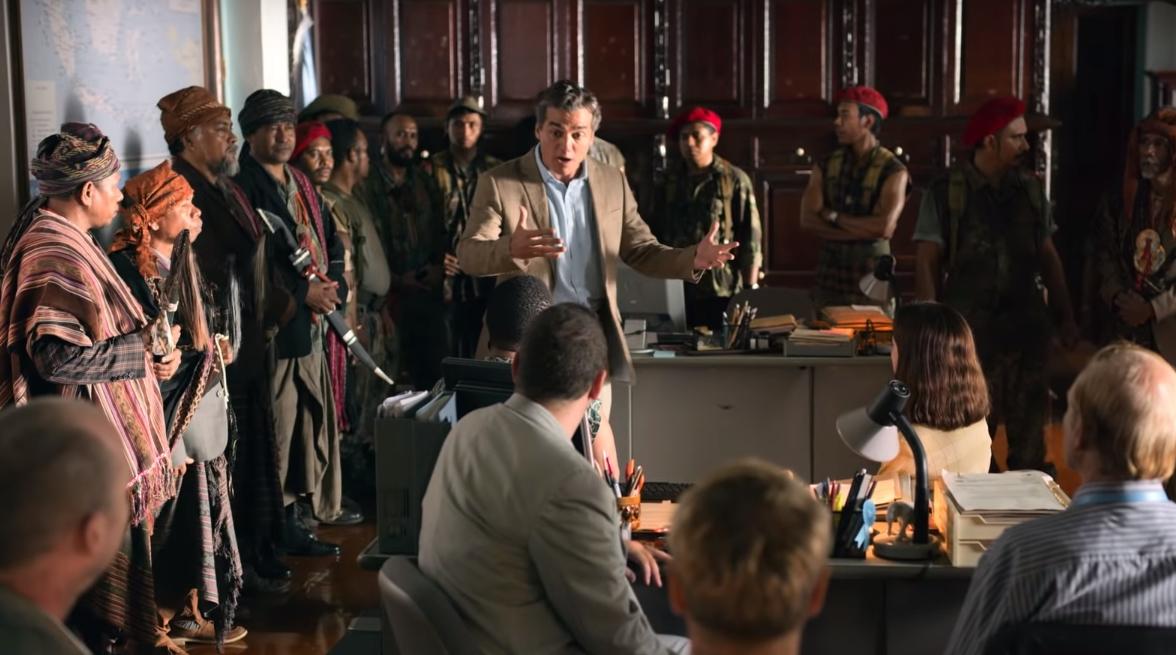"""""""Sergio"""": Wagner Boura es un diplomático en una peligrosa misión irakí en este estreno de Sundance"""