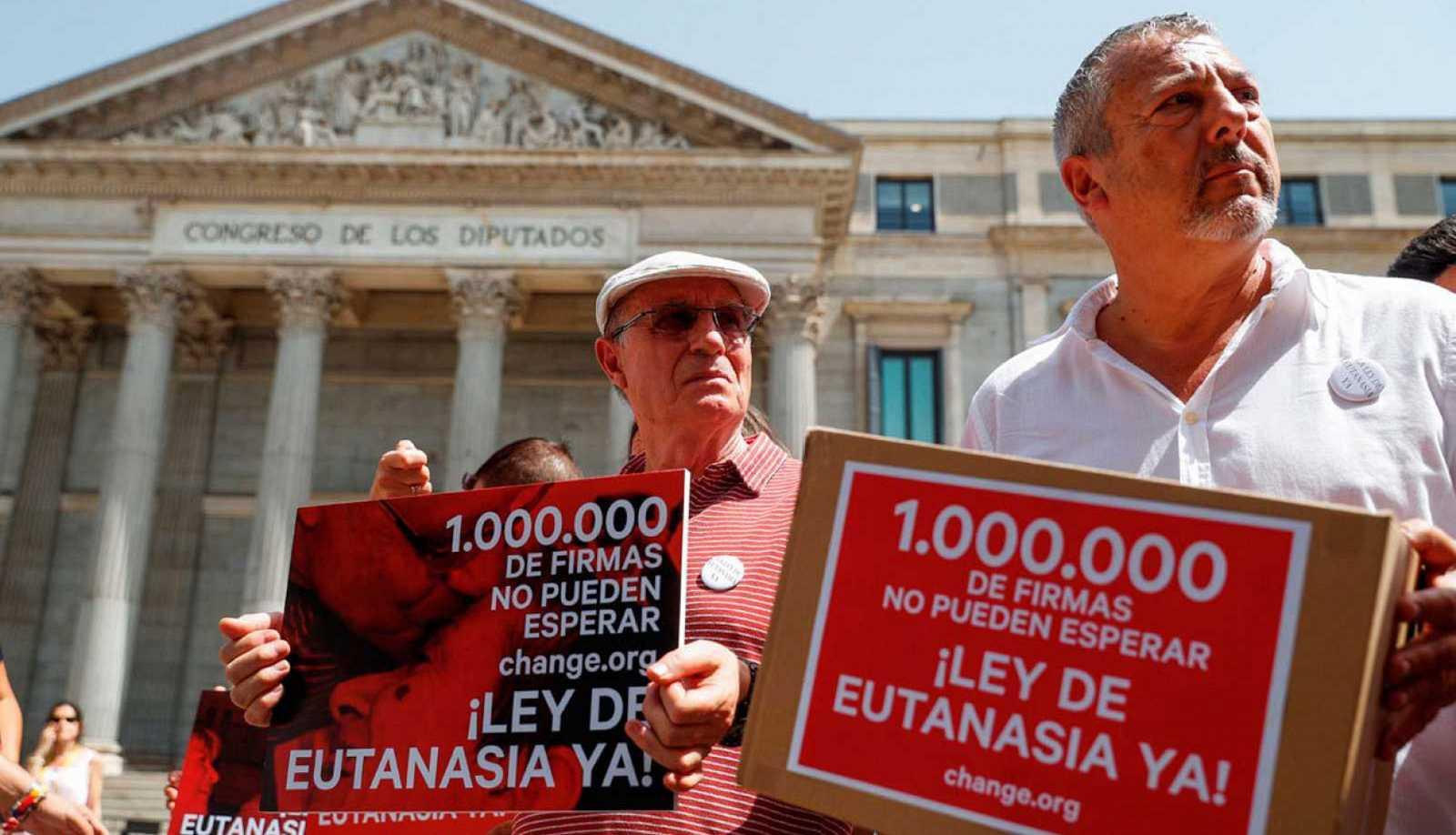 España: Congreso avanza con la propuesta de ley de eutanasia con un amplio apoyo