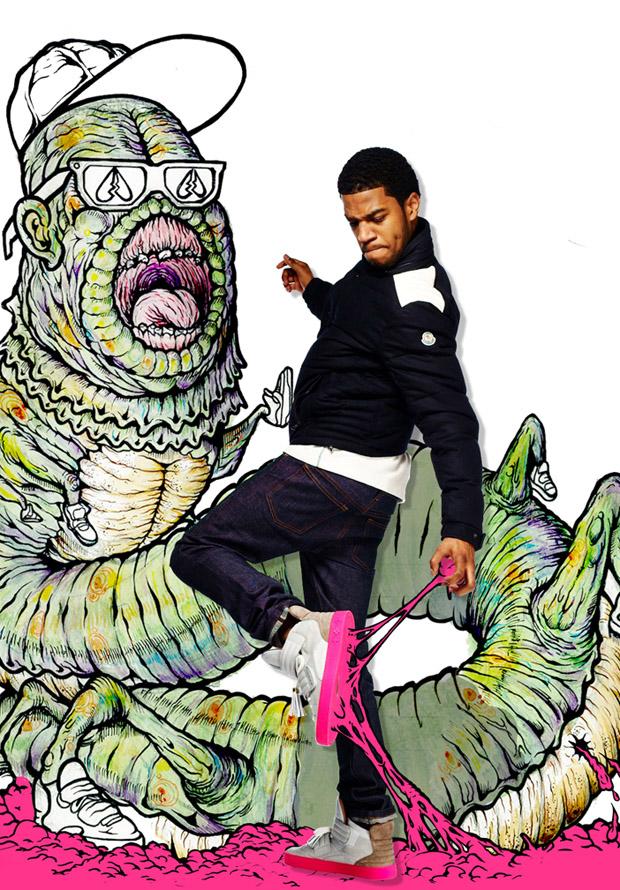 Kid Cudi. Foto: Kid Cudi/Louis Vuitton/Complex