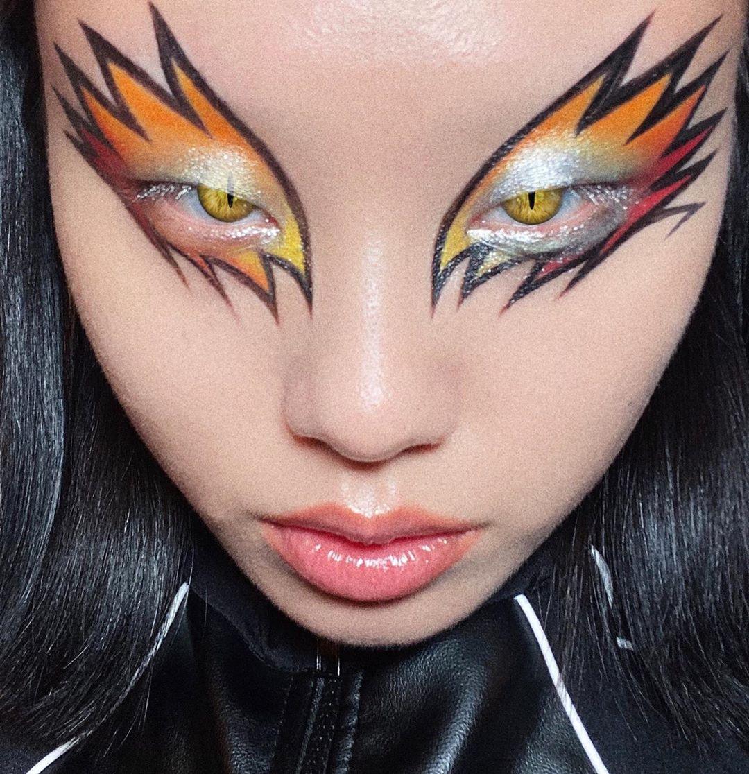 Conoce a Valentina Li, la makeup artist que crea looks futuristas y sobrenaturales en Instagram