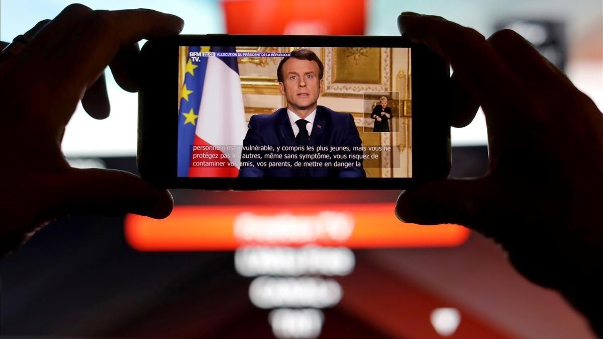 Francia: Macron suspende pagos de alquiler, gas, electricidad y agua durante crisis de coronavirus