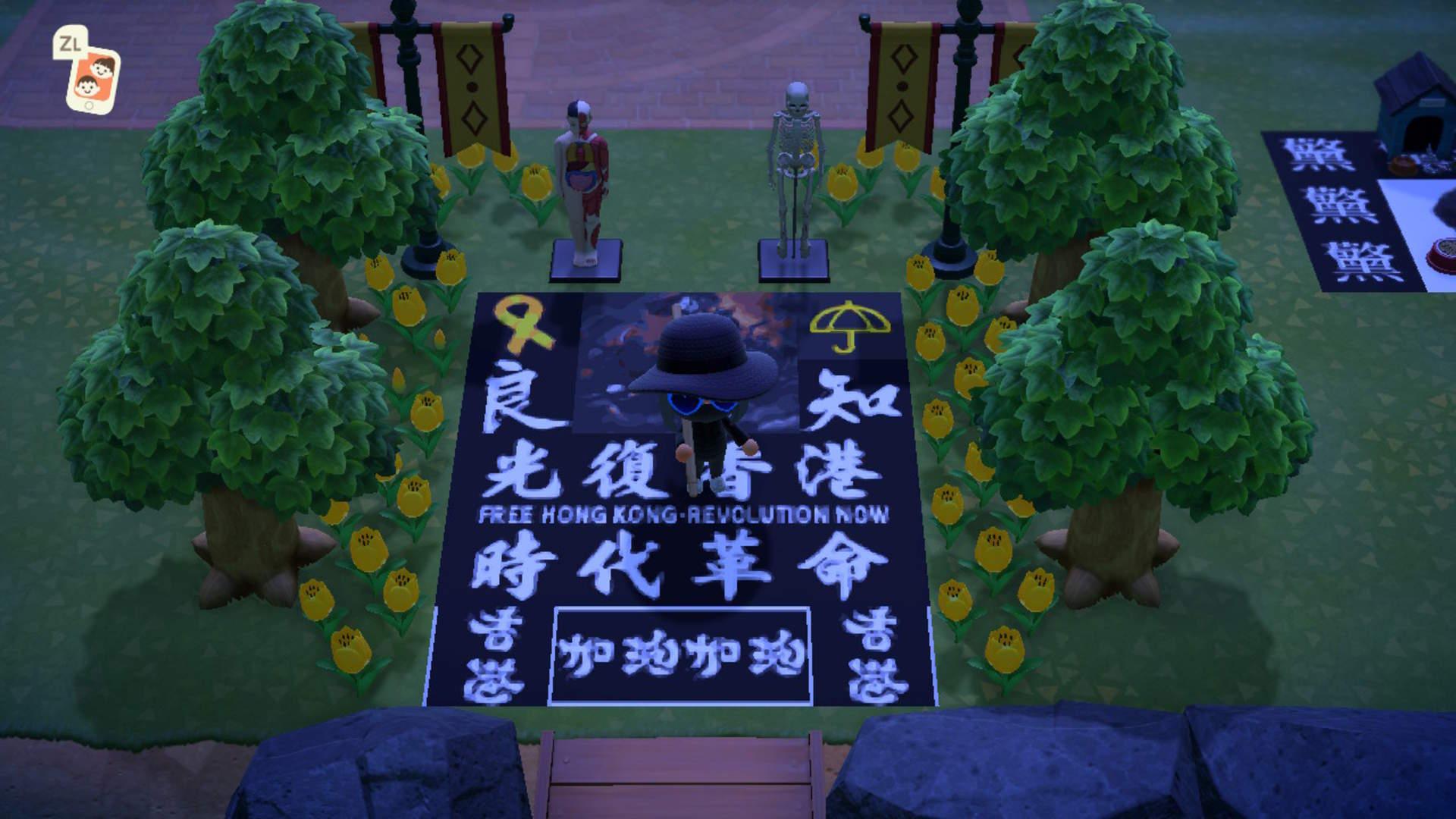 """China restringe las ventas de """"Animal Crossing"""" para frenar protestas virtuales en Hong Kong"""