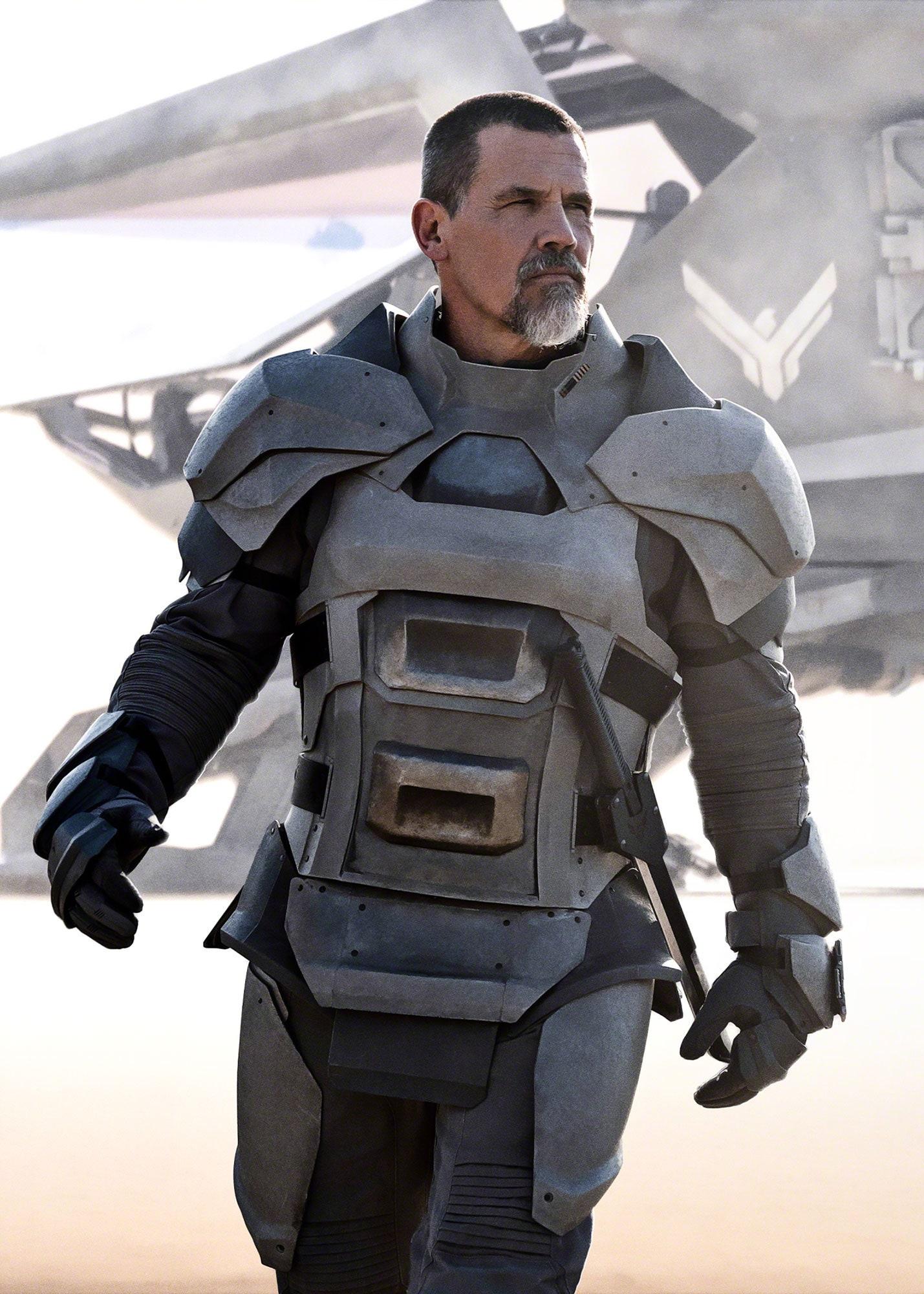 Josh Brolin como Gurney Halleck. Fotografía: Chiabella James