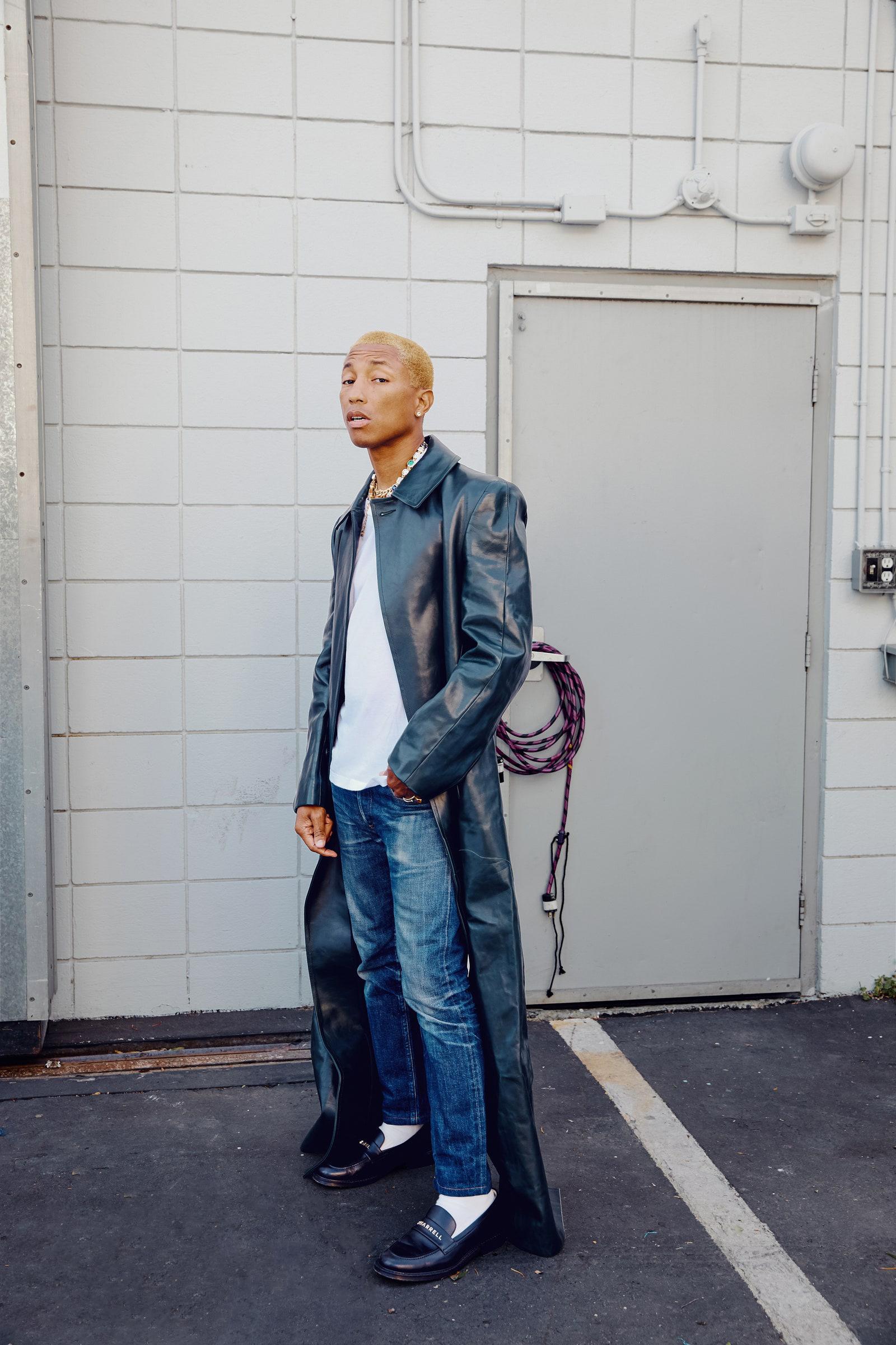 Pharrell Williams para GQ. Fotografía: GQ