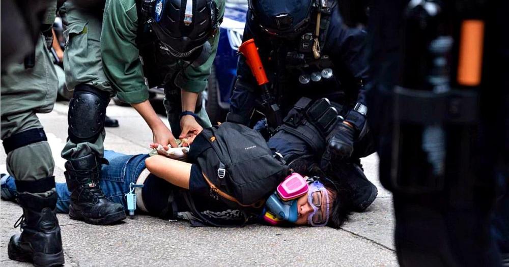 Hong Kong: 180 detenidos en protestas contra la policía china por nueva ley de seguridad nacional