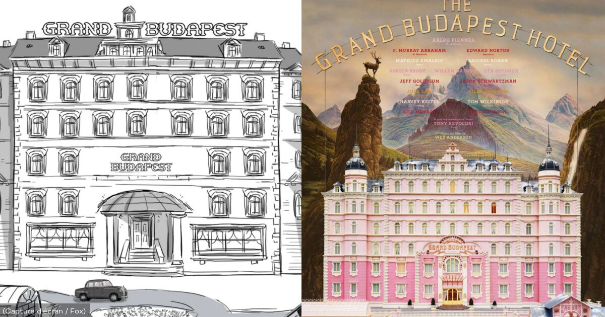 "Wes Anderson comparte los storyboards animados de su filme ""The Grand Budapest Hotel"""