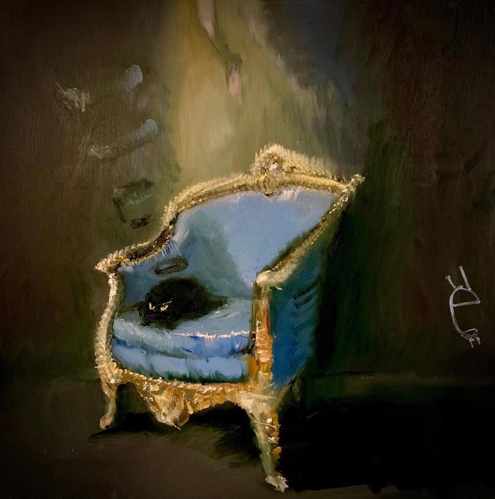 Conoce a Vanessa Stockard, la artista que reinterpreta pinturas clásicas con gatitos