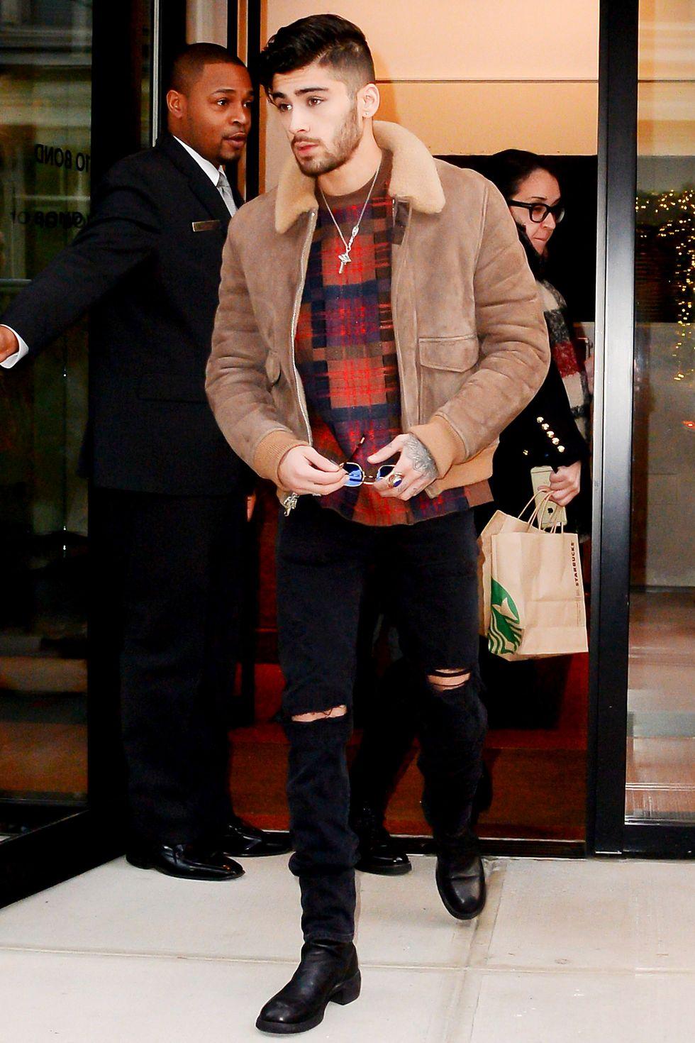 Zayn Malik en Nueva York en 2016. Fotografía: Getty Images