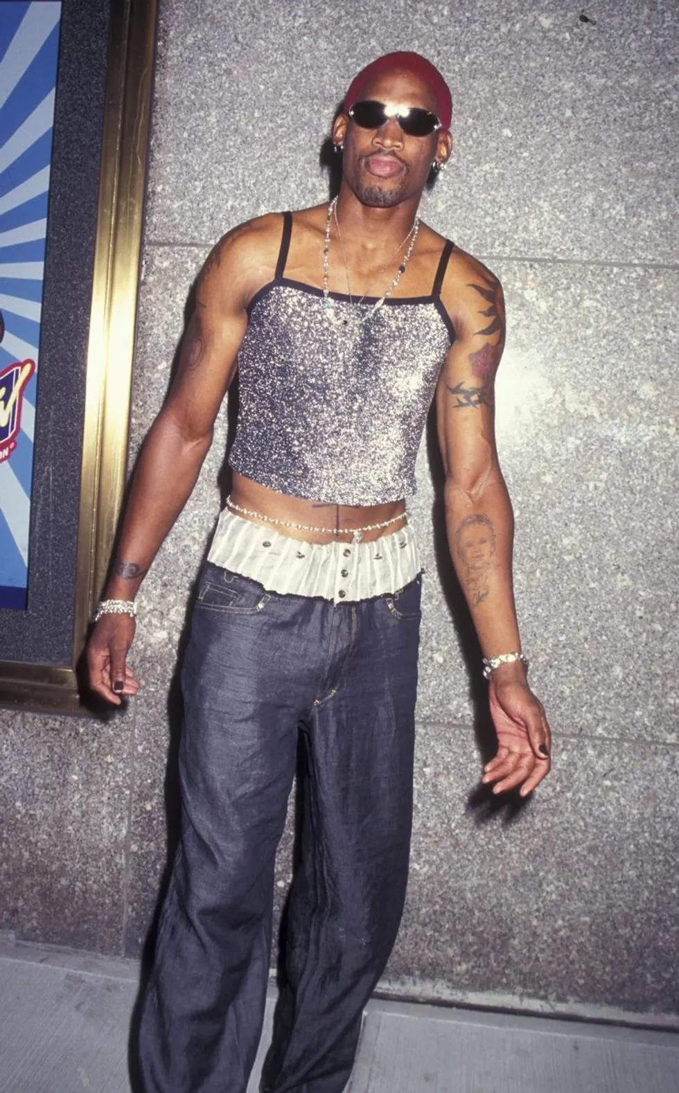 Dennis Rodman. Fotografía: Getty Images