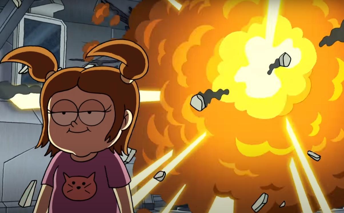 """""""Close Enough"""": La nueva serie animada de HBO Max es una aventura cotidiana y surrealista NSFW"""