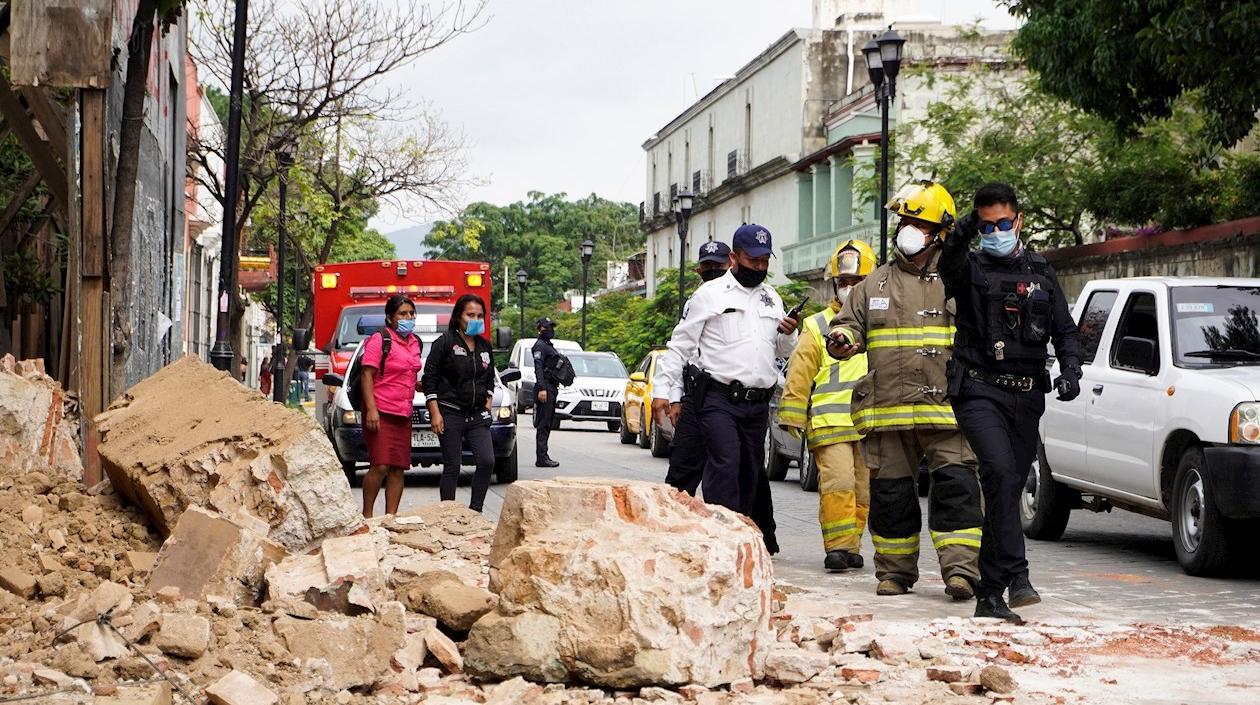 México: 6 fallecidos y 23 lesionados tras sismo de 7,5 grados en Oaxaca