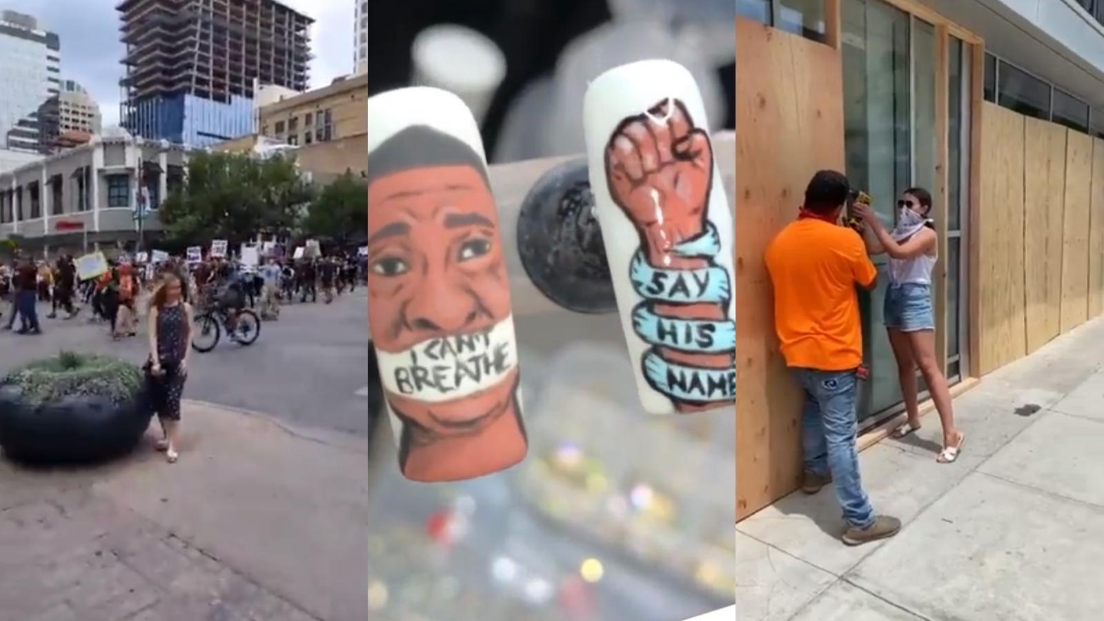 """Los """"influencers"""" blancos son criticados por sus acciones durante las recientes protestas en Estados Unidos"""
