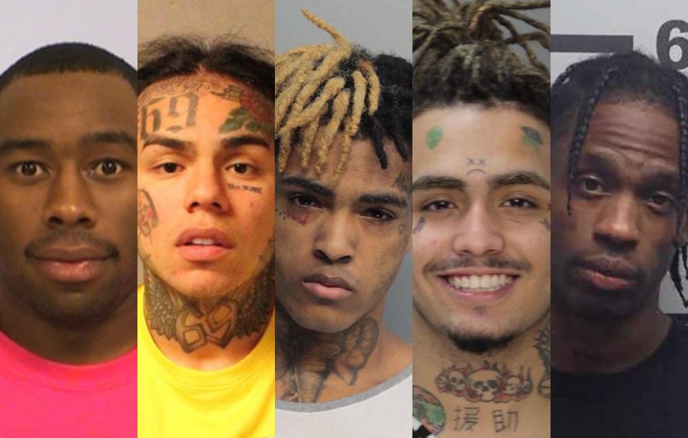 Las 10 mugshots más famosas del hip hop y la historia detrás de ellas