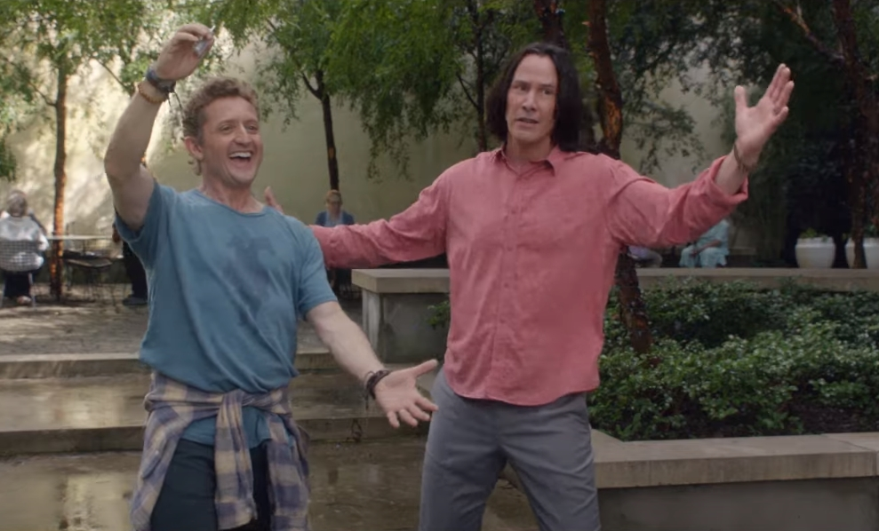 """Bill & Ted Face The Music"": Kid Cudi se une a la excelente aventura de Keanu Reeves y Alex Winter"