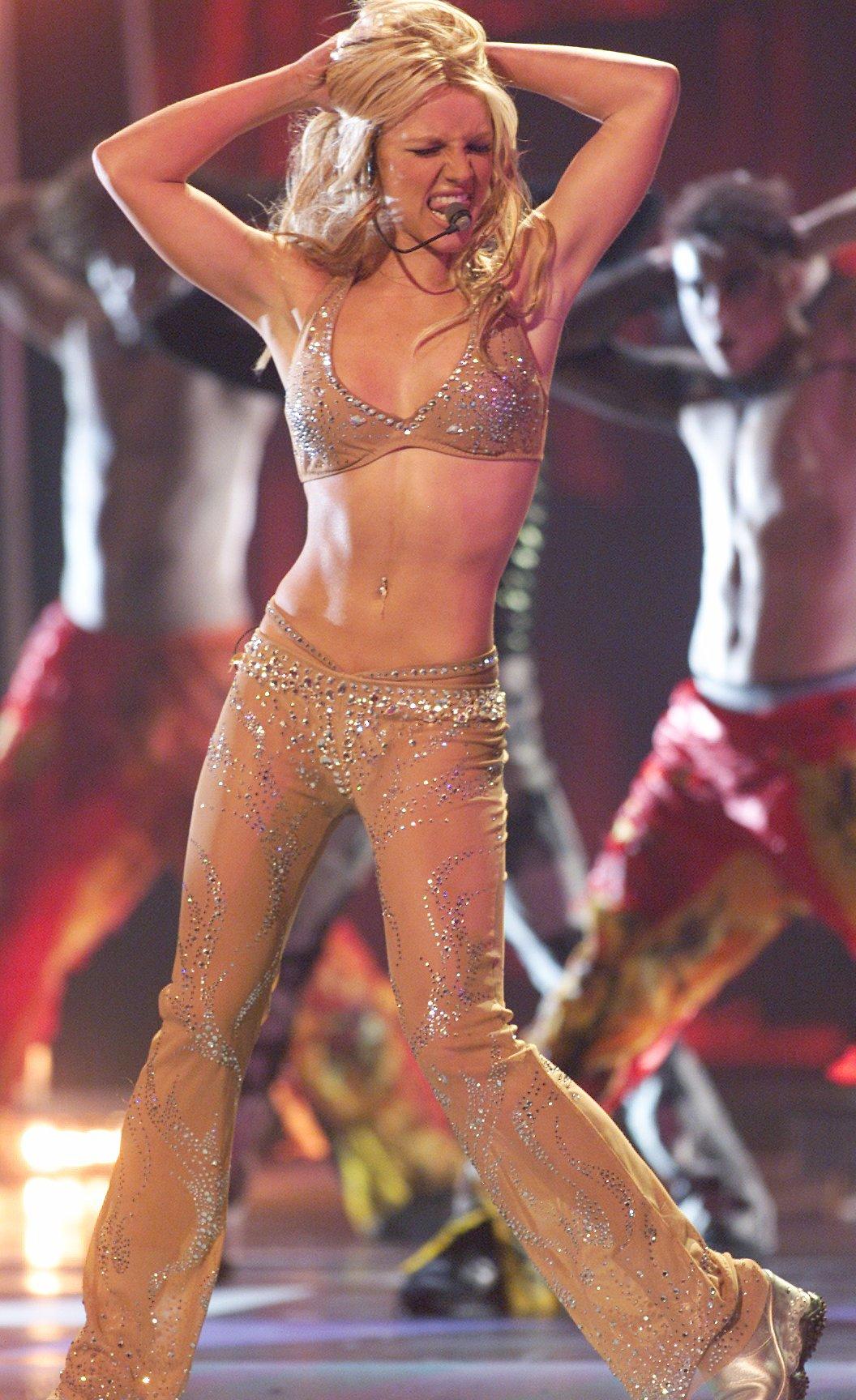 Britney Spears. Fotografía: Kevin Mazur/WireImage
