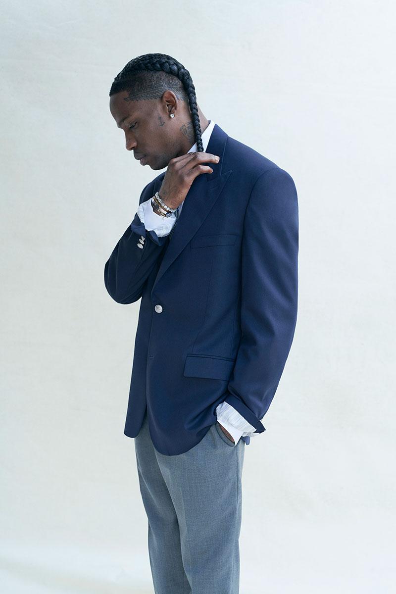 Travis Scott. Fotografía: Dior/Jordan Brand