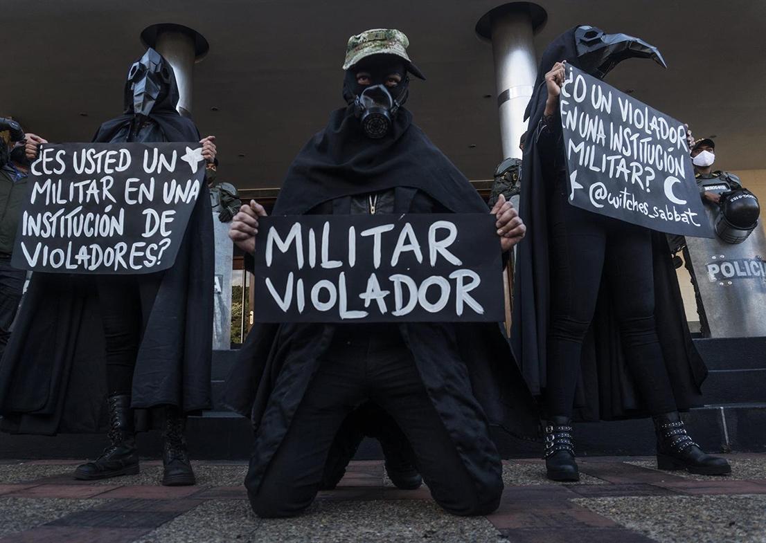 Ejército colombiano tiene en investigación a 118 de sus miembros por presuntos abusos sexuales