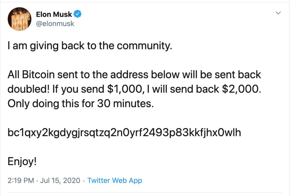 Elon Musk, Kanye West, Bill Gates, Apple y más son hackeados en Twitter con una estafa masiva de bitcoin