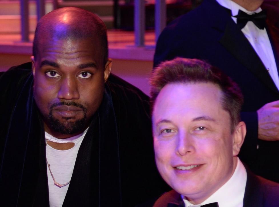Elon Musk dice que le aconsejó a Kanye West retrasar sus ambiciones presidenciales hasta 2024
