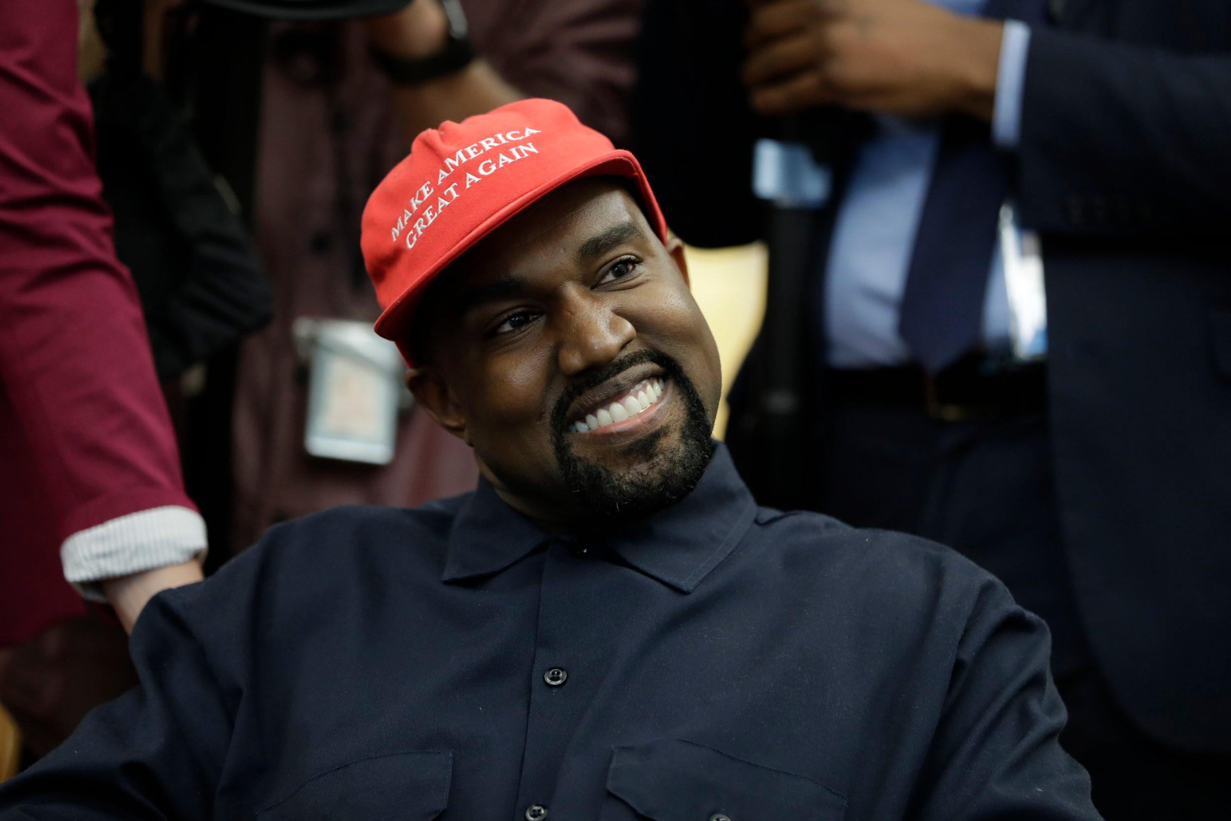 ¡Es oficial! Kanye West competirá por la presidencia de Estados Unidos