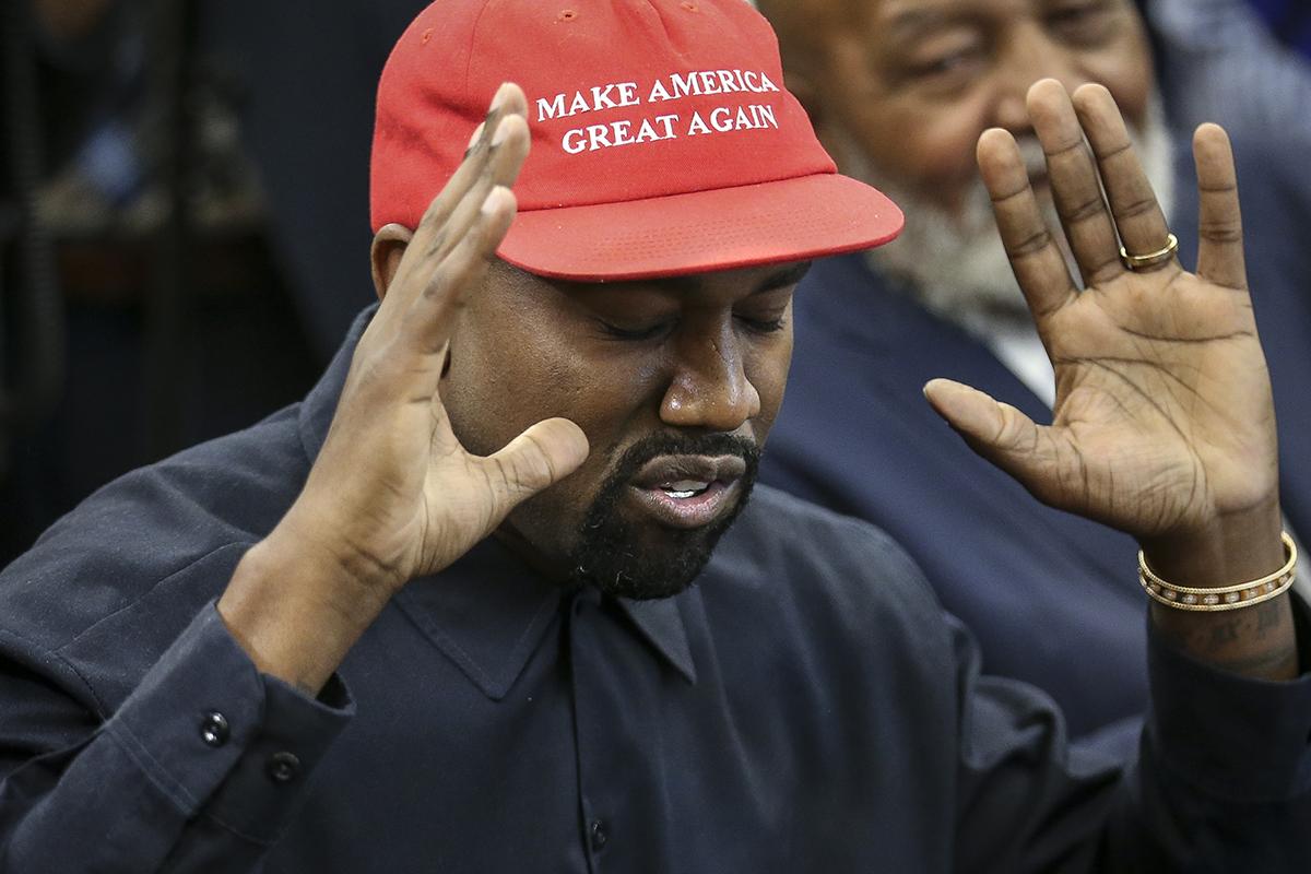 Kanye West toma una postura anti-vacunas y anti-aborto en su candidatura presidencial