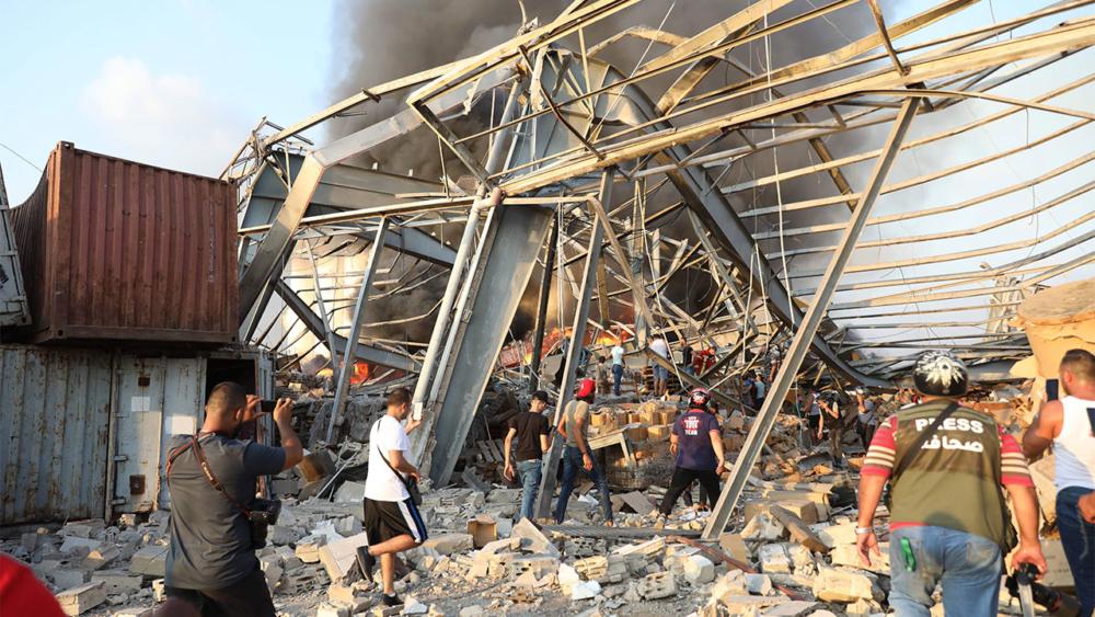 Líbano: Explosión masiva sacude la ciudad de Beirut
