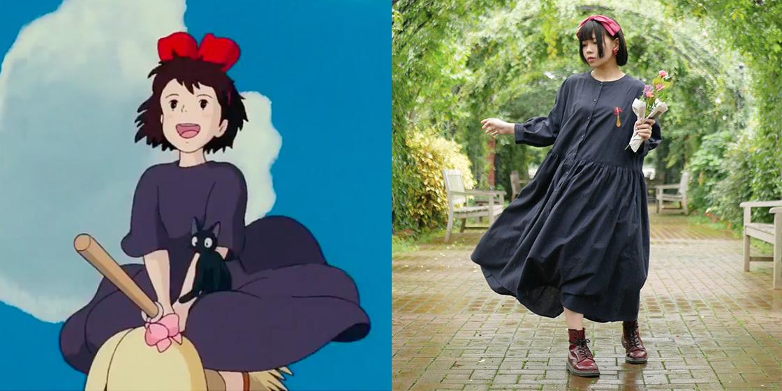 """Studio Ghibli lanza línea de vestidos inspirados en la película """"Kiki's Delivery Service"""""""