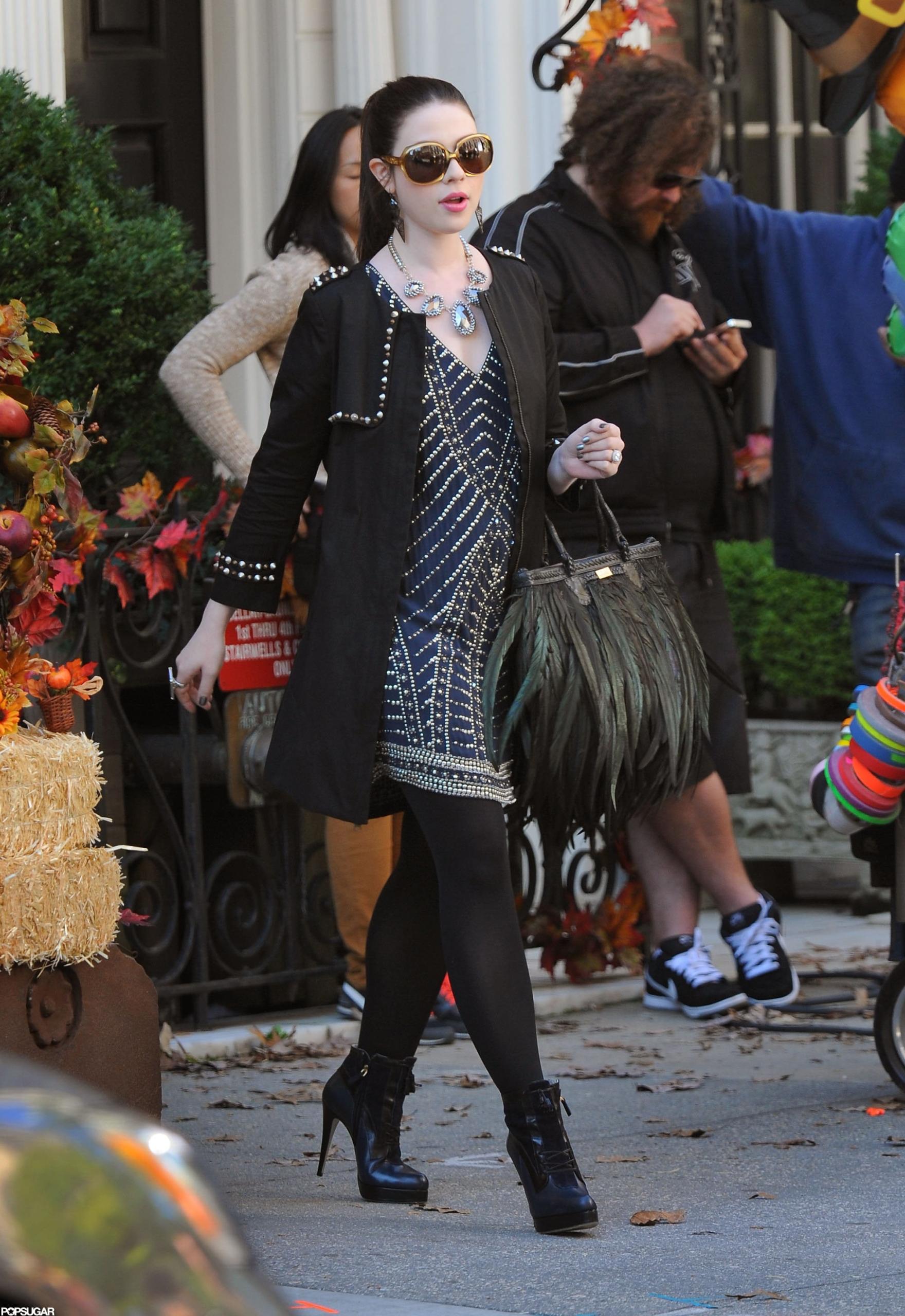 "Michelle Tratchenberg como Georgina Sparks en ""Gossip Girl"". Fotografía: Getty"