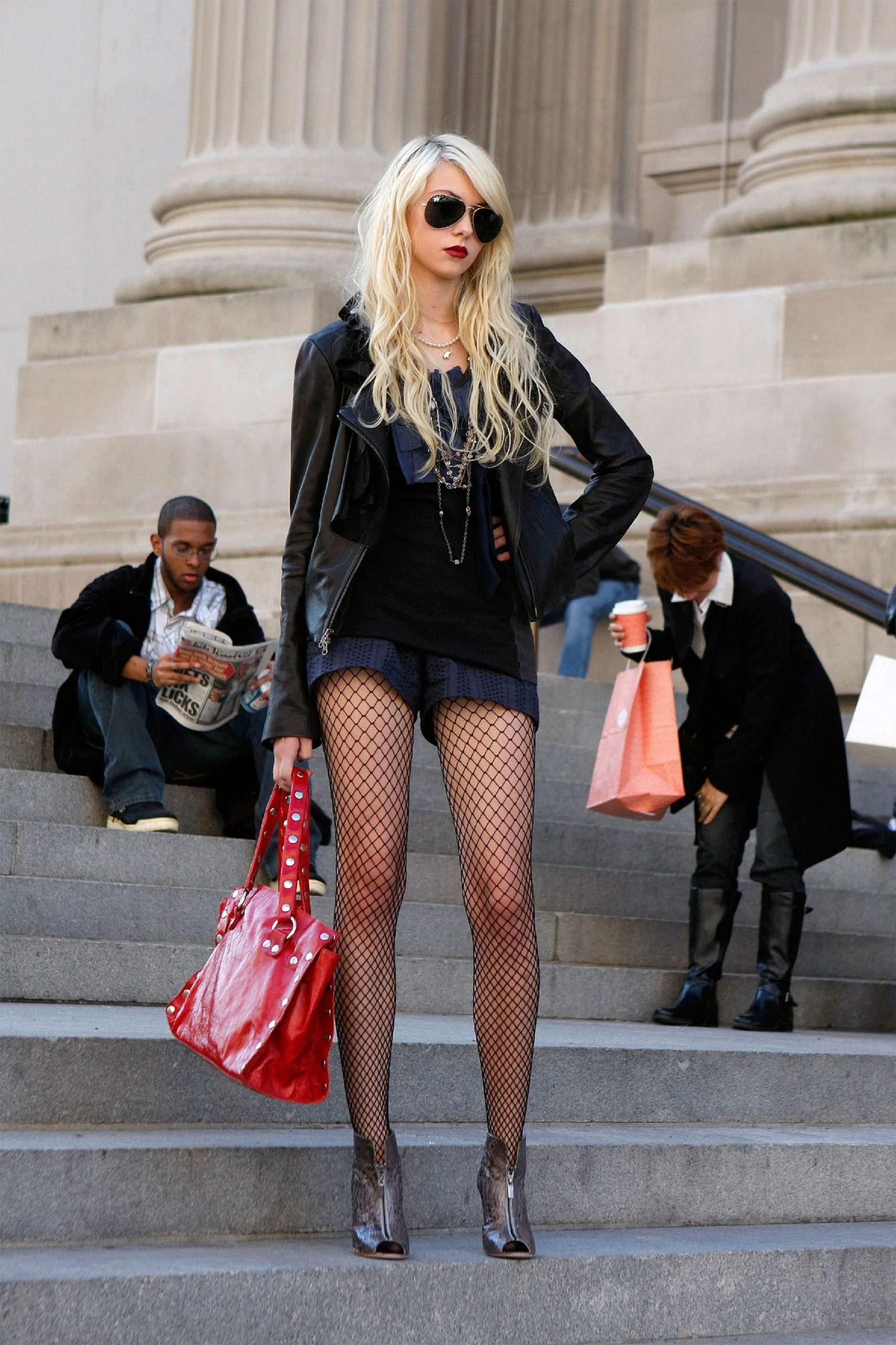 """Taylor Momsen como Jenny Humphrey en """"Gossip Girl"""". Fotografía: Getty"""