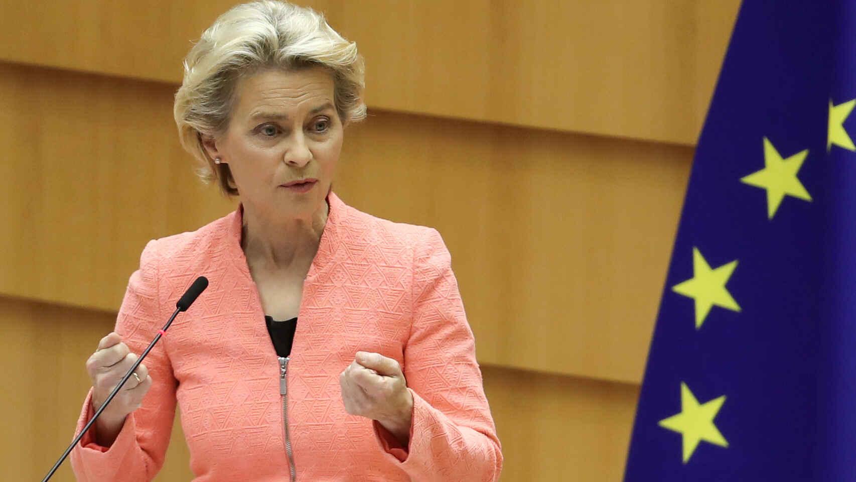 """Ursula von der Leyen denunció que las """"zonas libres de LGBT"""" no tienen lugar en la Unión Europea"""