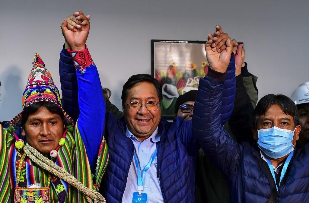 Bolivia: El socialista Luis Arce gana la primera vuelta en las elecciones presidenciales