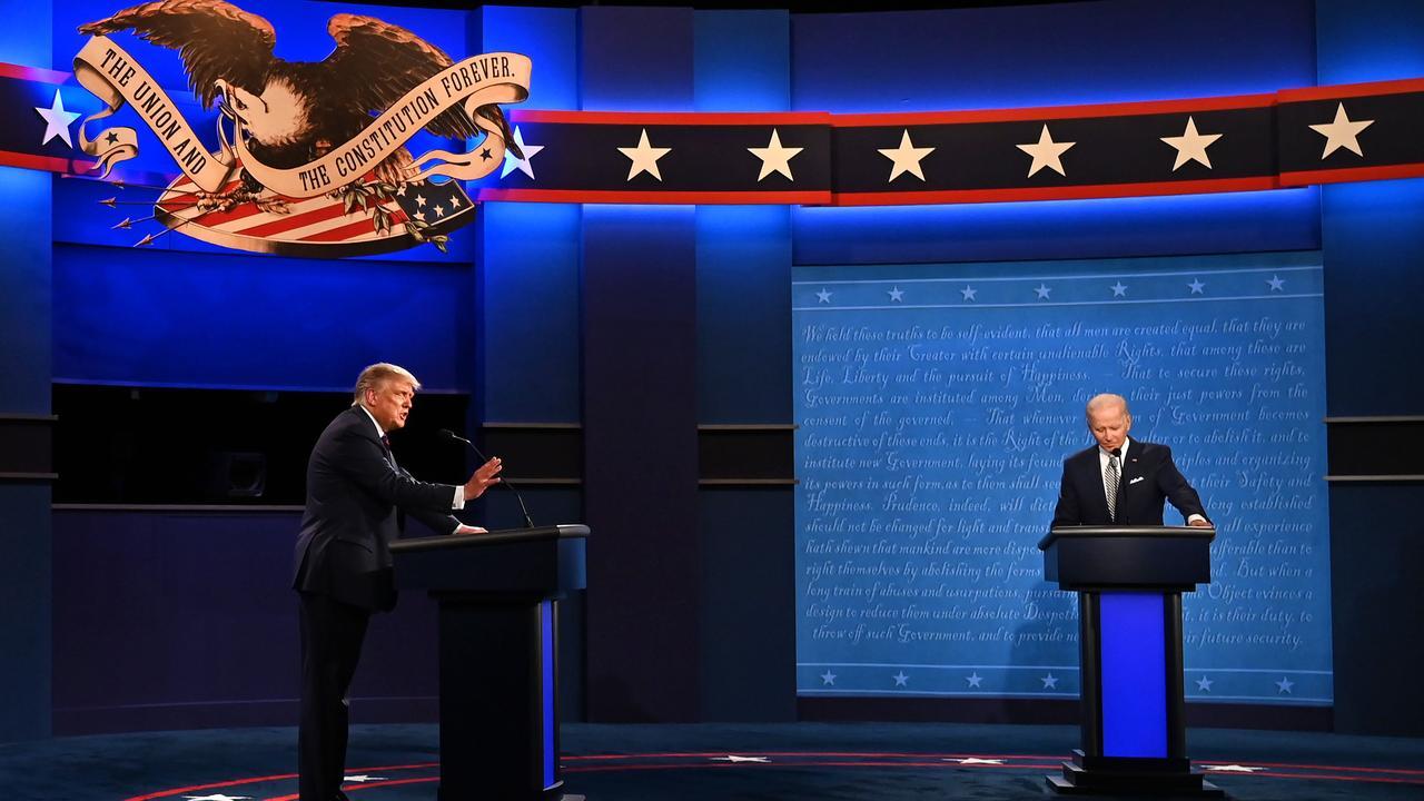 """Trump y Biden tendrán un """"botón de mute"""" en el último debate presidencial"""