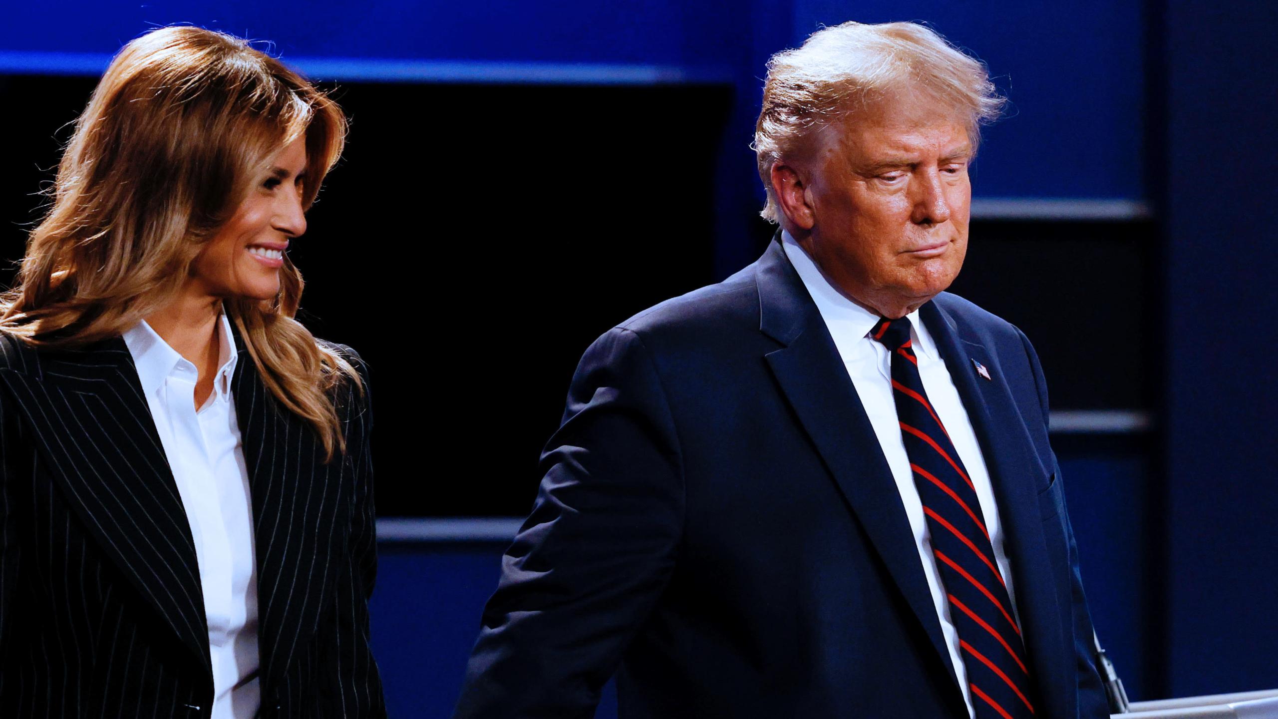 Donald Trump y Melania Trump dan positivo para COVID-19