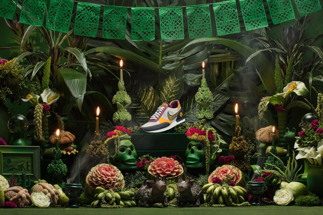 Nike celebra el Día de Muertos con una colección especial que reimagina sus zapatillas clásicas