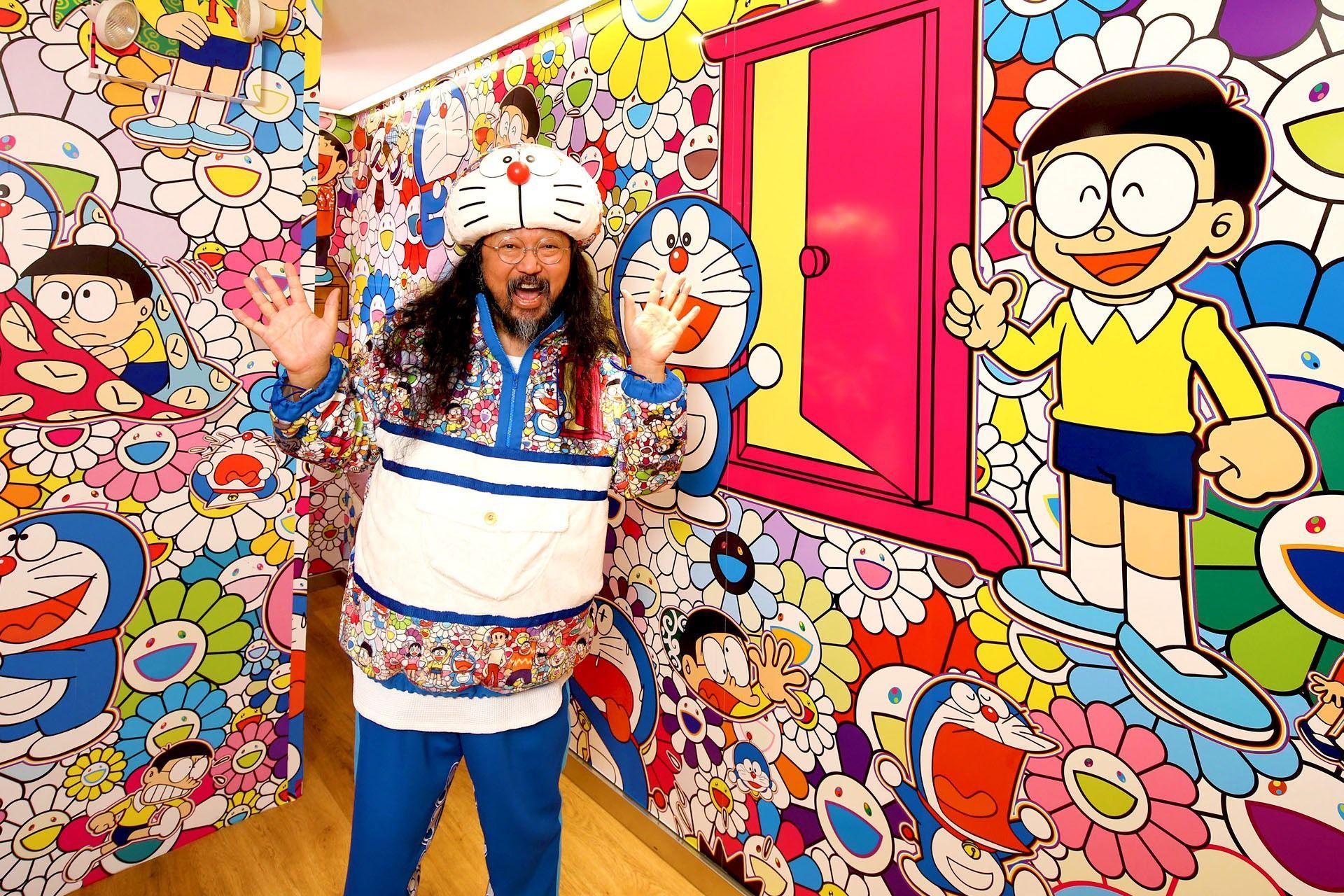 """Esta """"búsqueda del tesoro"""" le regala una obra de arte de Takashi Murakami a quien pueda encontrarla"""