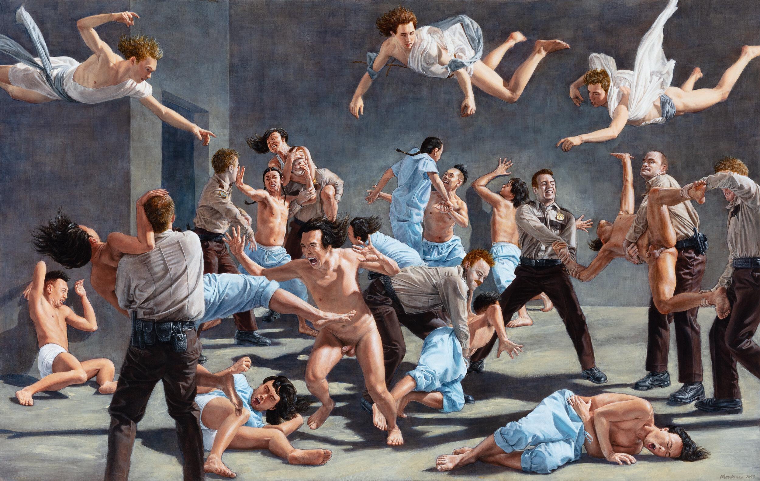 """""""The Institution"""", de Kent Monkman"""