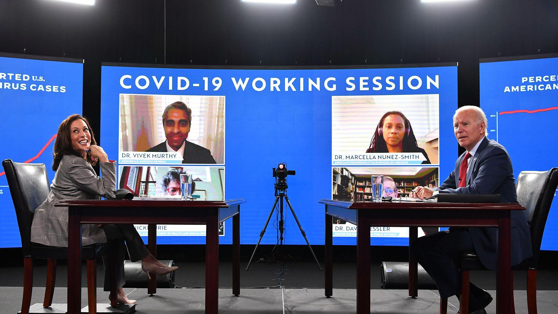 EE.UU: Biden y Harris comienzan a trabajar creando junta científica para combatir el COVID-19