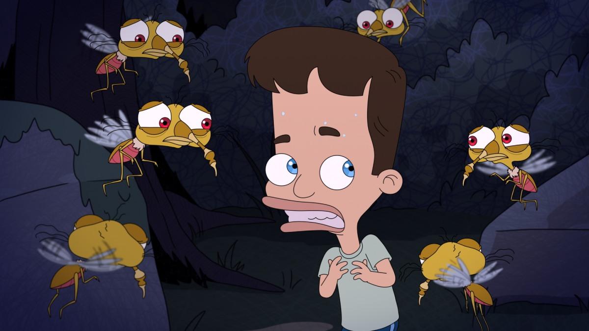 """""""Big Mouth"""": La ansiedad es el nuevo monstruo de la adolescencia en el nuevo trailer de la serie animada"""