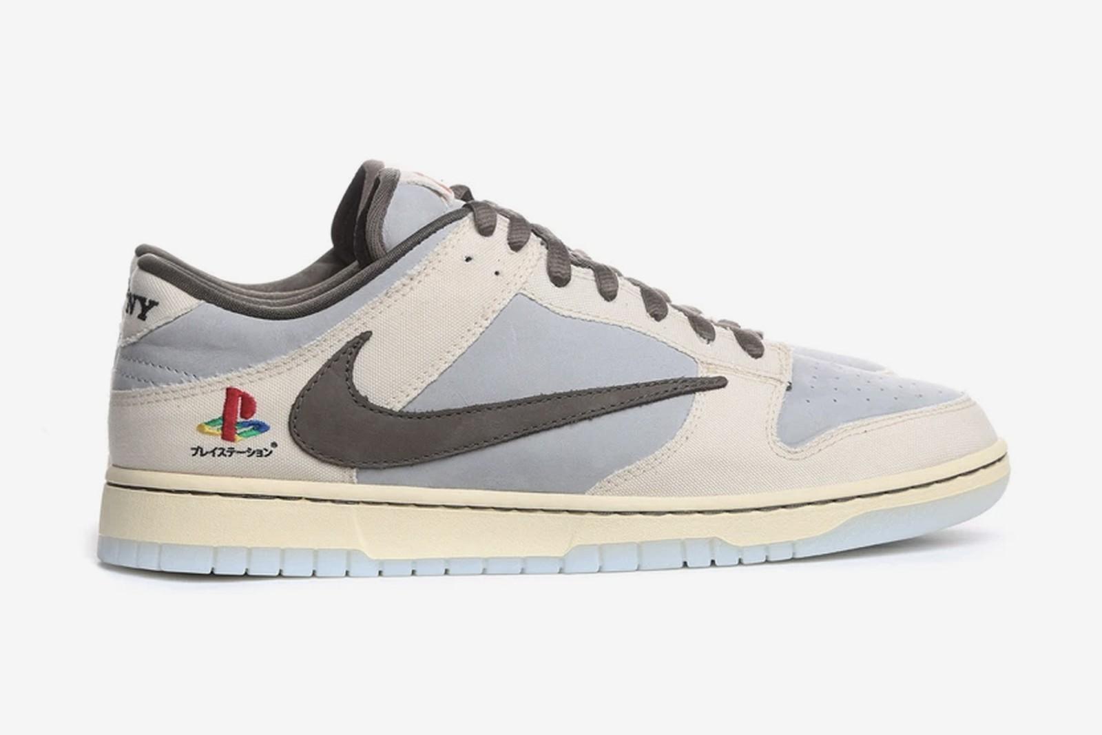"""Travis Scott lanza las zapatillas """"Dunk Low"""" en colaboración con Nike y Playstation"""