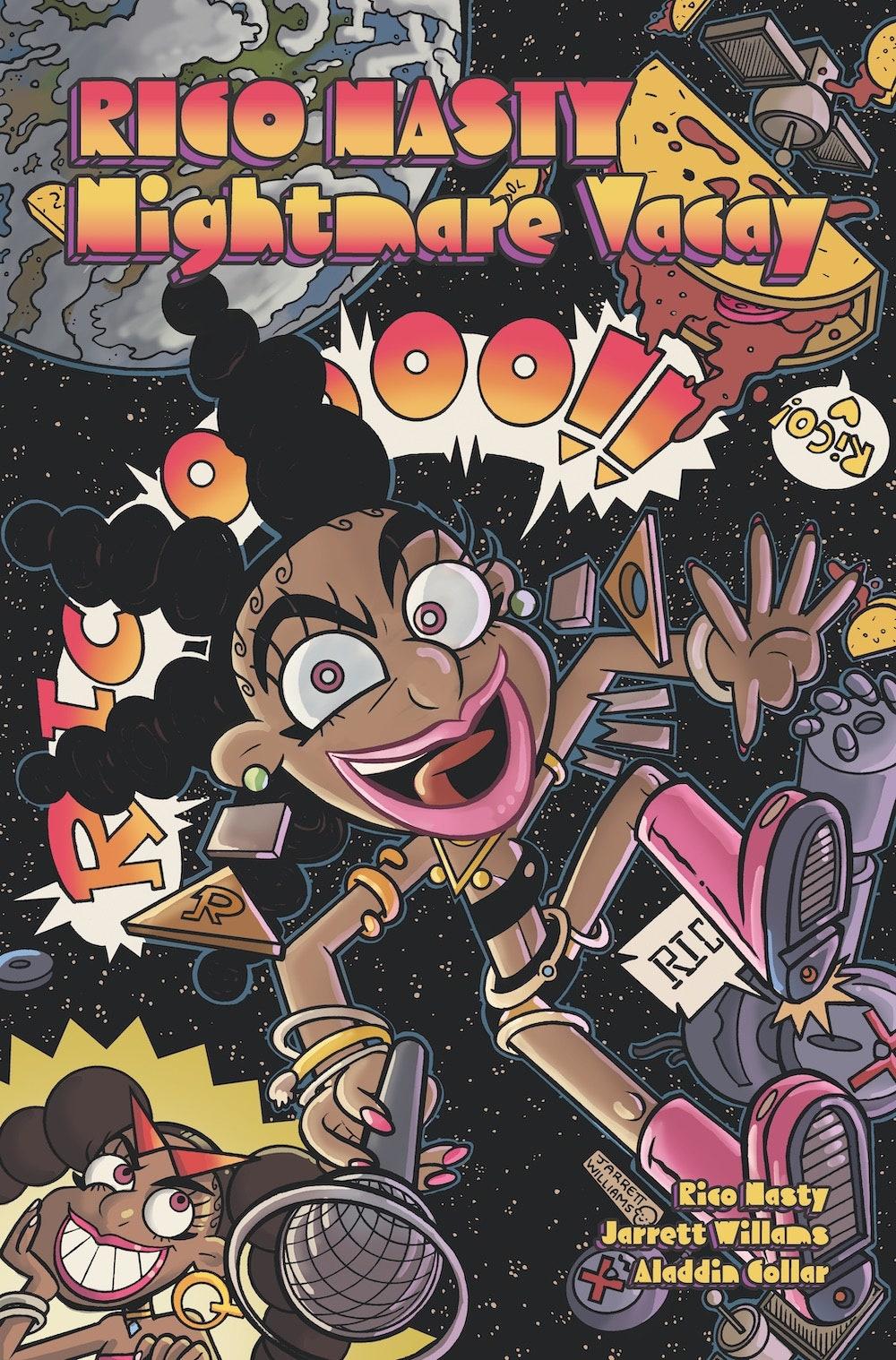 """Rico Nasty tendrá su propio cómic llamado """"Nightmare Vacay"""""""