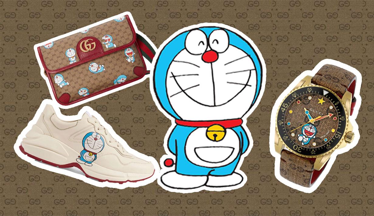 Doraemon x Gucci: la colección hecha para los amantes del fashion y el animé