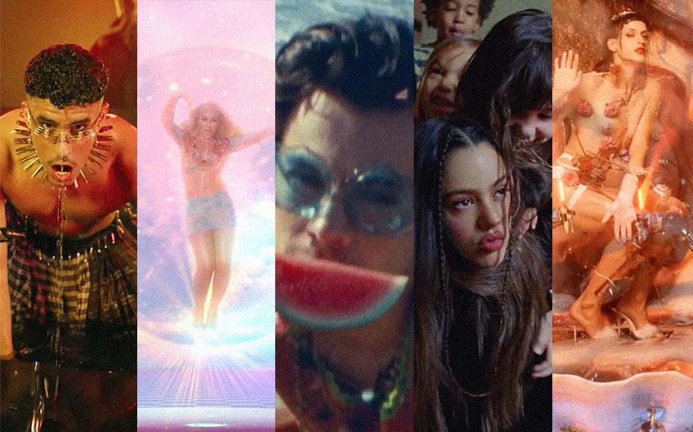 Los 30 mejores videos musicales del 2020