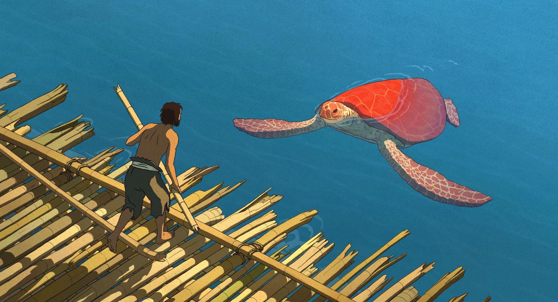 """""""The Red Turtle"""". Fotografía: Studio Ghibli"""