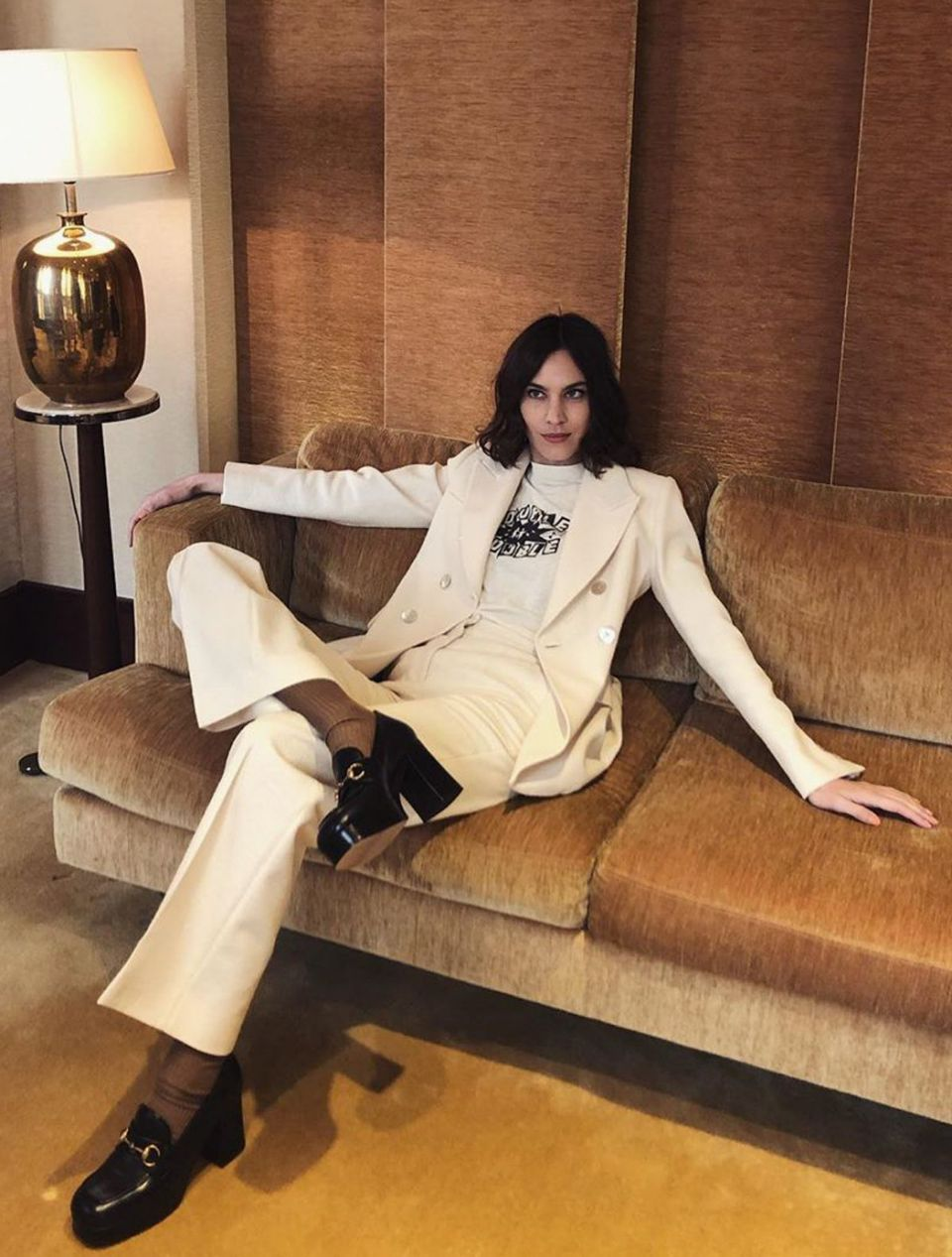 10 looks de Alexa Chung que la convierten en la fashionista más ecléctica del mundo de la moda
