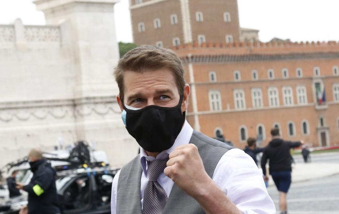 """Tom Cruise se descarga contra equipo de """"Mission: Impossible 7"""" luego de que violaron protocolos de COVID-19"""